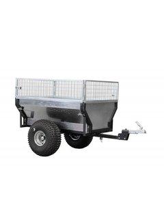 Iron Baltic ATV Anhänger "ECO 300" inkl. Aufsatzgitter und Rotations Kupplung