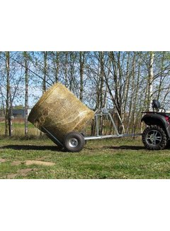 Iron Baltic ATV bale trailer