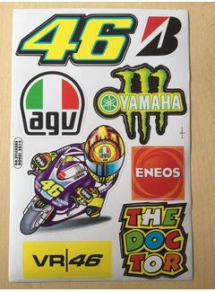 VR46 Stickerset