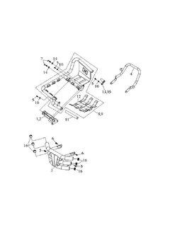 Access Fußstützen, Haltegriff, Stoßstange