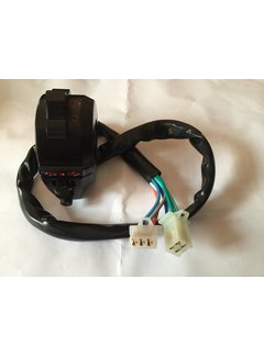 Wingsmoto Motorcyle Right Switch Assy Throttle Clamp Aluminium 7 Wires Dirt Pit Bike