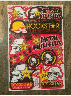 Metal Mulisha Rockstar Sticker Set Nr.3