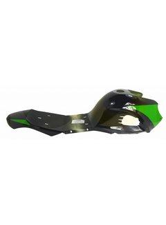 Miniquad Elektro/49 cc Verkleidung schwarz/grün