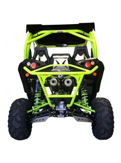 XRW BACK BUMPER BR11 MANTA GREEN - MAVERICK 1000 XDS / XRS TURBO