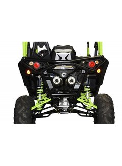XRW BACK BUMPER BR12 BLACK - MAVERICK 1000 XDS / XRS TURBO
