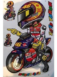 VR46 Valentino Rossi Sticker Nr. 2