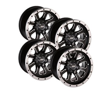 Moose Utility Felgensatz 548X Wheels - Black 14 Zoll