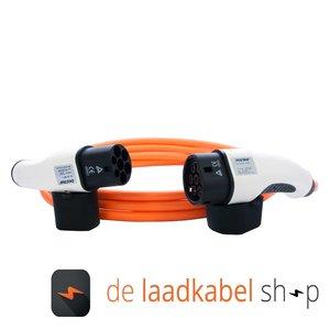 DOSTAR Câble de recharge véhicule électrique 16A Triphasé Type 2 - Type 2 (4 mètres)