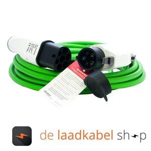 Ratio Câble de recharge véhicule électrique 32A Monophasé Type 2 - Type 1 (6 mètres)