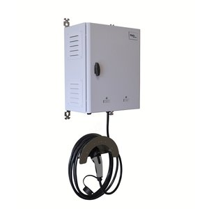 Ratio EV-transformatorlader 3x16A tot 1x32A T2 5m + DC-beveiliging