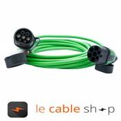 Ratio Câble de recharge véhicule électrique 32A Monophasé Type 2 - Type 2 (8 mètres)
