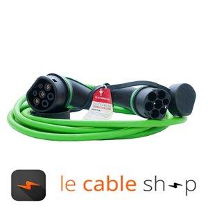Ratio Câble de recharge véhicule électrique 16A Triphasé Type 2 - Type 2 (4 mètres)