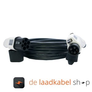 DOSTAR Câble de recharge véhicule électrique 16A Monophasé Type 2 - Type 1 (Longueur au choix)
