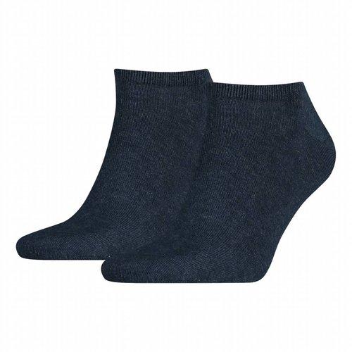 Tommy Hilfiger 2-pack Sneakersokken Jeans blauw