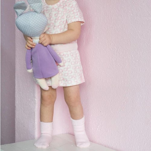Bonnie Doon Warme, Extra zachte babysokjes Navy