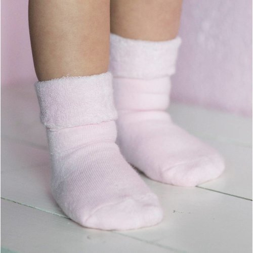 Bonnie Doon Warme, Extra zachte babysokjes Roze