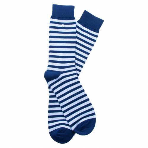 Alfredo Gonzales Stripes Blue Melee/Navy