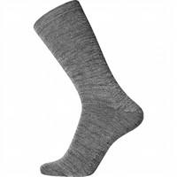 Wol met katoen grijs zonder elastiek