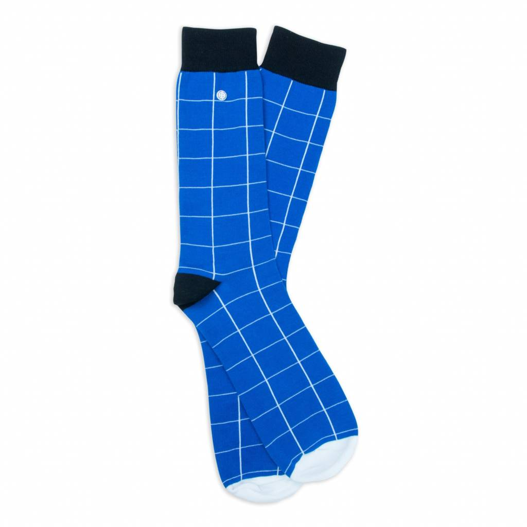 Alfredo Gonzales Blocks Blue