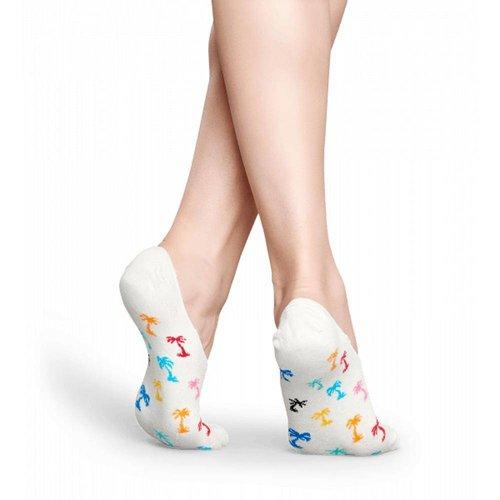 Happy Socks Palm Beach Liner Wit
