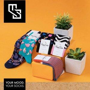 Happy Socks Best Gift 3-pack Surprise Box