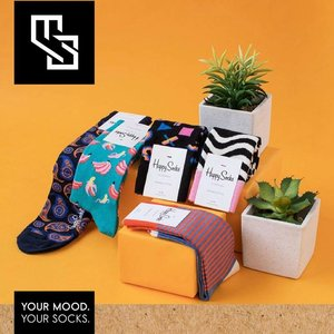Happy Socks Best Gift 3-pack Surprise Box