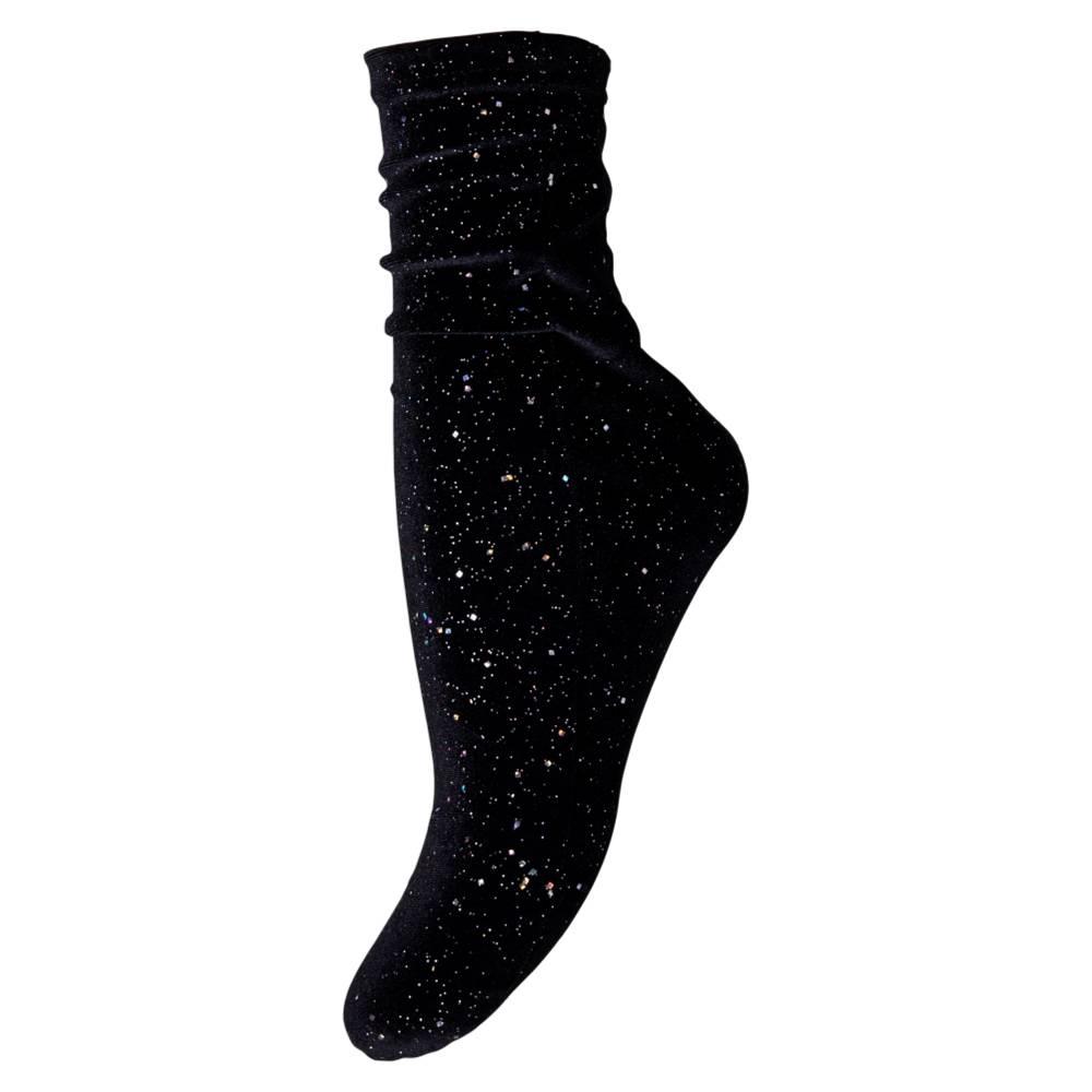 MP Denmark Ankle Velvet Black
