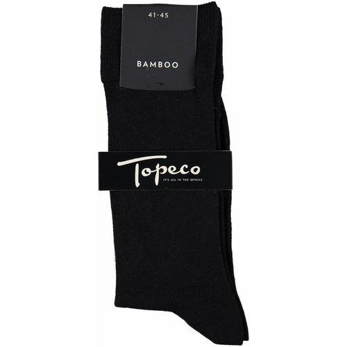 Topeco Bamboe Solid Zwart