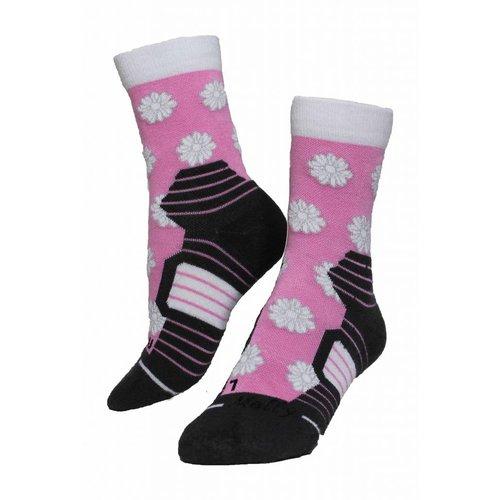 Molly Socks Flowers wandelsokken