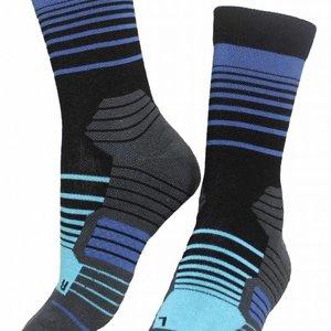 Molly Socks Stripes Ocean Wandelsokken
