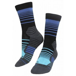 Molly Socks Stripes Ocean Wandelsokken