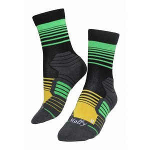 Molly Socks Stripes Brazil Wandelsokken