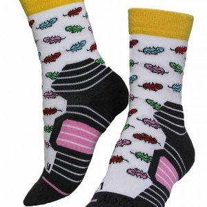 Molly Socks Feather Wandelsokken