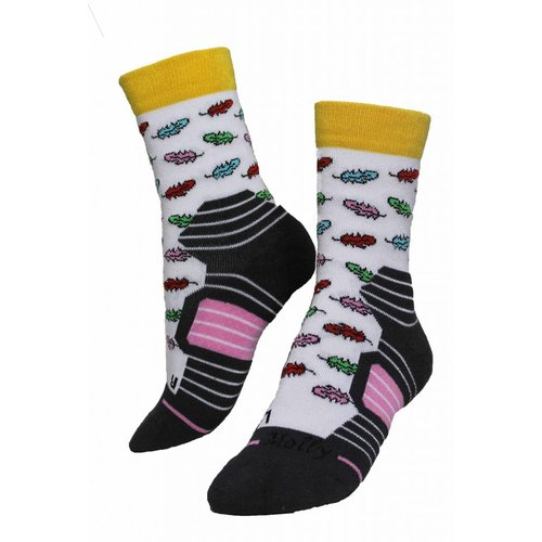 Molly Socks Feather Wandelsokken