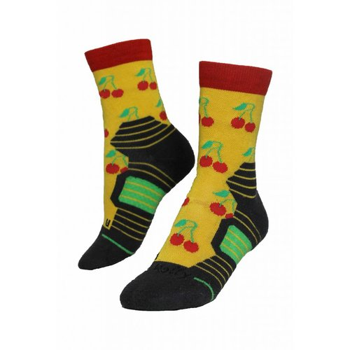 Molly Socks Cherry Wandelsokken