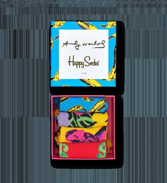 Andy Warhol x Happy Socks giftbox