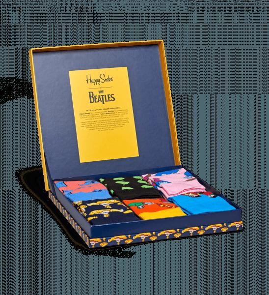 The Beatles x Happy Socks giftbox
