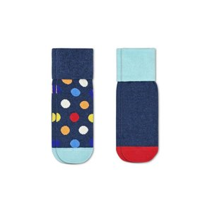 Happy Socks Kids Anti-Slip Big Dot 2-pack