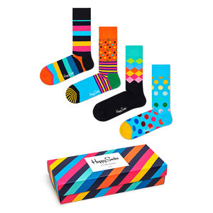 Happy Socks Classics Gift Box Multi Color