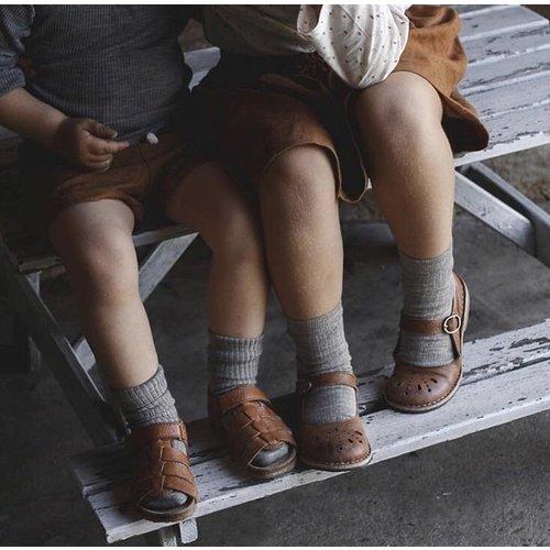 MP Denmark Kindersok en babysok  grijs