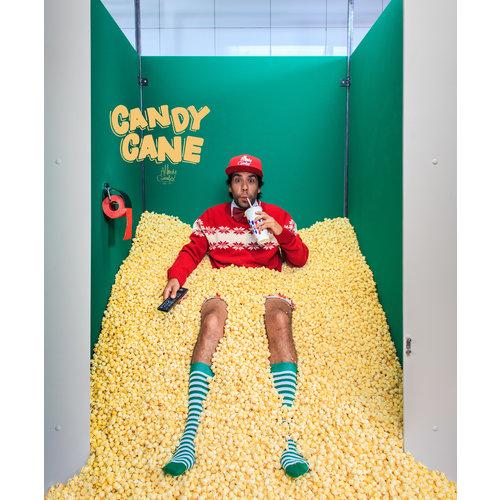 Alfredo Gonzales Candy Crane Green/White