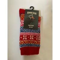 Folkloric Sock Strawberry
