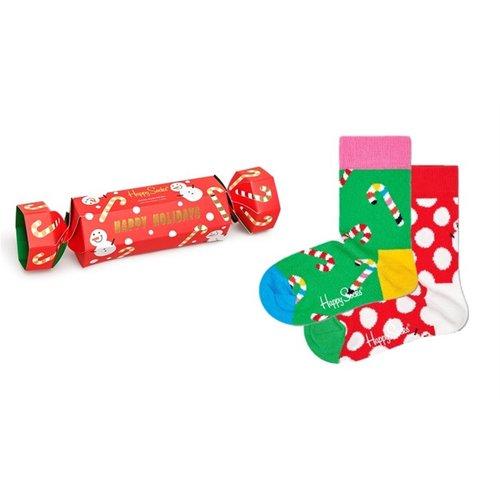 Happy Socks Kids Holiday Socks Gift Set