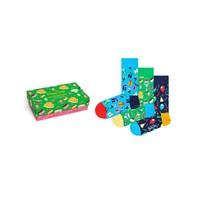 3-Pack Happy Birthday Socks Gift Set