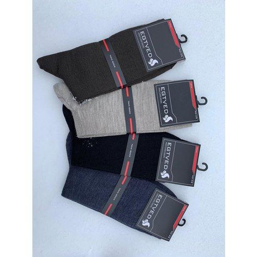 Egtved De unieke Twin Sock van Egtved. Wol van buiten en katoen van binnen