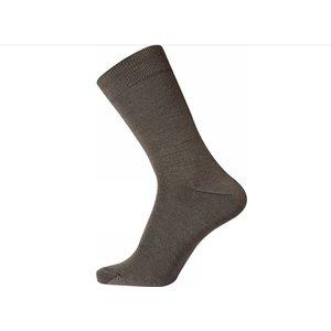 Egtved Bruin Twin Sock Wol/Katoen Egtved