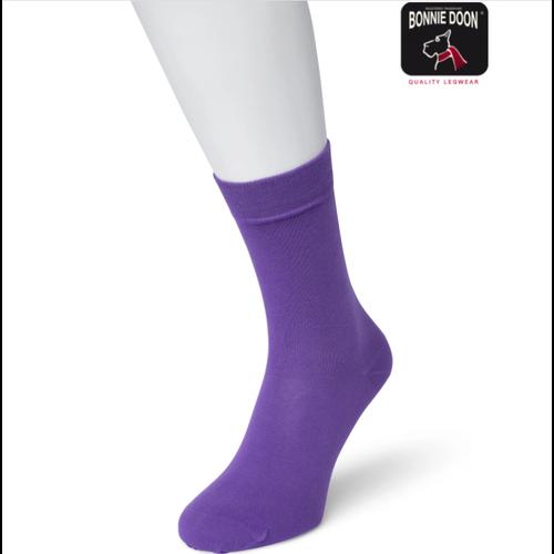 Bonnie Doon Bonnie Doon Cotton Sock Paars