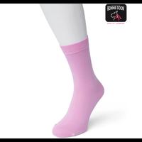 Roze Katoenen Dames Sok Bonnie Doon