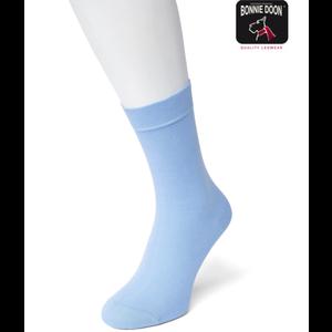 Bonnie Doon Lichtblauw Katoenen Dames Sok Bonnie Doon