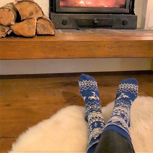 Warme (huis)sokken voor dames